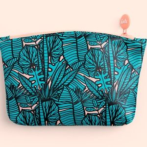 *5/$25* Ipsy July 2019 Palm Print Cosmetic Bag